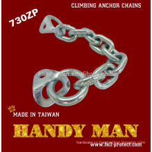 730ZP-10 Galvanized Steel Rock Climbing Traditional Anchor