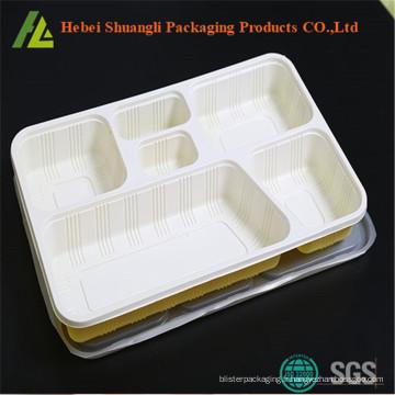 bac à aliments avec 6 compartiments