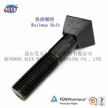 Odd Shaped Special Fastener Pyramidal Bolts with Plain Oiled