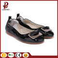 black and red dress flat shoes women