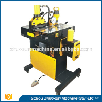 China copper sheet punching tool bending machine hydraulic busbar extruder