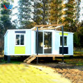 Steel constructions light-weight prefab steel structure prefabricated house 3 bedroom malaysia
