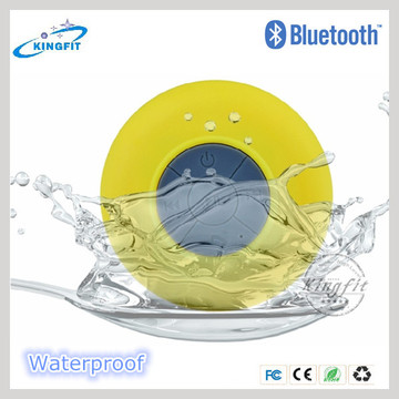Factory Top Sell Portable Waterproof Bluetooth Mini Shower Speaker