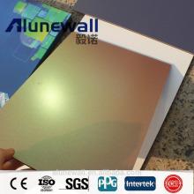 Alunewall градиент рампы мечта x Композитный китайским производителем панели спектров алюминиевые