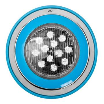 Fábrica de natação piscina subaquática LED impermeável IP68 fonte luzes 12W