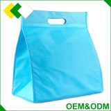 wholesale keep food cold polyester non woven aluminium foil lunch disposable insulated cooler bag