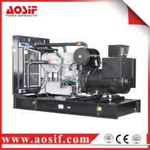 520KW / 650KVA generador 50hz con perkins motor 2806A-E18TAG2 hecho en Reino Unido