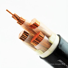 Singal core XLPE insulated  asphalt anticorrosive layer  high voltage power cable