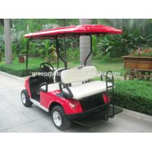 Carro de golfe elétrico do carro do clube de 4 assentos