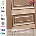 JHK-M03 Outerior Rara textura levantada Hotel europeo Brich Madera Puerta simple MDF