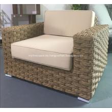Sofá suave de gama alta de PVC con cojín