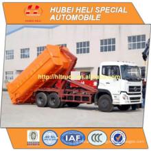 NUEVO DONGFENG DFL 6x4 20M3 basura grande que recoge la venta caliente de la buena calidad del carro 260hp
