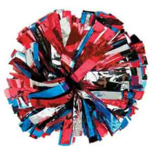 2016 Cheering POM Poms: Metallic 3 Colors