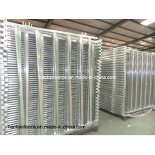 30X60mm Oval Rails Livestock Panels/Cattle Panel