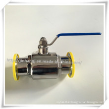 Hot Sale Stainless Steel 304 Food Grade Sanitary Ball Valve