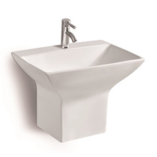G806 Wall Mounted Ceramic Basin