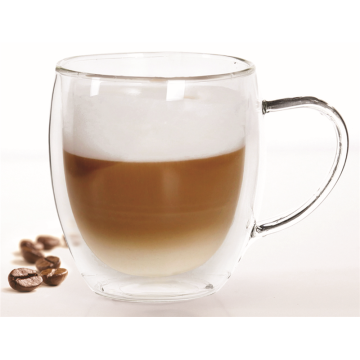 Double Wall Glass Coffee Mug Sets
