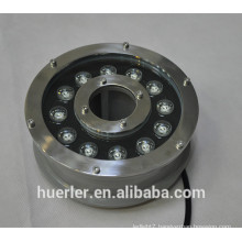 China Huerler aquarium led lighting 3w 5w 9w 12w 18w IP68 stainless led underwater light 12v 24v with CE & ROHS approved