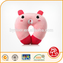 pink pig cute cartoon design U shape baby travel neck