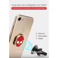 Unique Design Skull Shape Magnetic Rotate 360 Degrees Mobile Phone Ring Stent