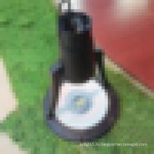 2015 alibaba горячая продажа cfl освещение, алюминиевый корпус IP65 садовый светильник с ETL DLC