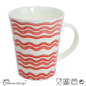 12oz New Bone China Coffee Mug with Decal