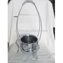 Novo titular carvão boa qualidade carvão cesta do metal