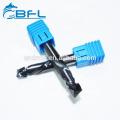BFL Carbide Fresa CNC Molino de extremo de compresión para MDF para madera