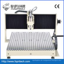 2200W Wasserkühlung CNC-Graviermaschine für die Steinmetallformbearbeitung