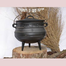 Painting Cast Iron Potjie Pot