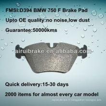 Plaquette de frein D394 525/530/540/735/740/750 / M3 / M5 / Z3