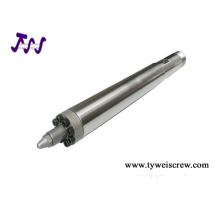 injection molding screw barrel, bimetallic screw barrel