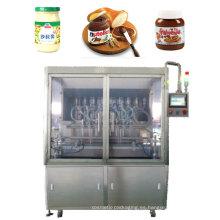 Máquina de llenado de pasta de salsa de salsa de mermelada de tomate ketchup