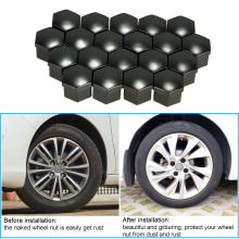 20PCS Plastic Car Hub Bolt Caps for Auto Parts