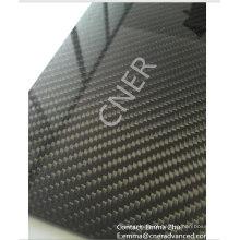 100% folha de fibra de carbono 3K laminado, placa de fibra de carbono Skype: zhuww1025 / WhatsApp (Mobile): + 86-18610239182