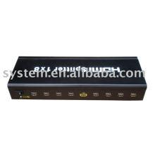 HDMI Splitter 1 * 8