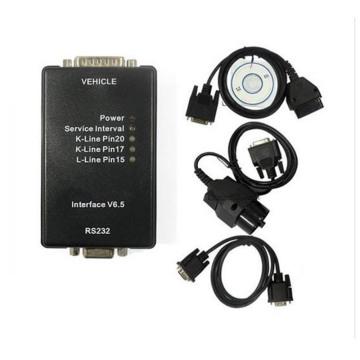 Interface Carsoft 6.5 commandée de MCU pour BMW E60, E61, E83.