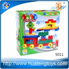 2016 Nuevos bloques huecos plásticos del ABS del tamaño grande del quanlity juguetes y aficiones