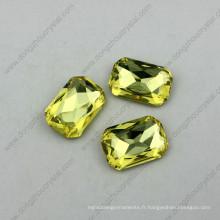 Pierre de cristal d'octogone décoratif de mode de prix d'usine du fournisseur de la Chine