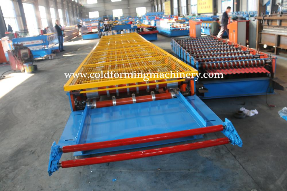 Glazed Steel Tile Machine