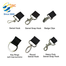 Factory selling dye sublimation lanyard with lanyard accessories