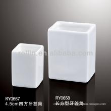 Gesundes haltbares weißes Porzellan-Ofen sicherer rechteckiger Zahnstocher