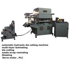 Máquina de cortar em forma de espuma de níquel de borracha de nitrilo