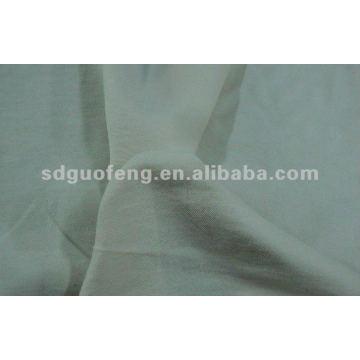 tecido de tecido de algodão spandex cinza e tecido tingido