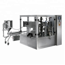Automatic Premade Bag Packaging Machine For Liquid Detergent Tomato Paste Juice Milk
