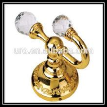 Schwarz gold Vorhang Hardware Kristall Vorhang Holdbacks