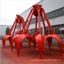 hydraulic grab bucket for crane spare parts
