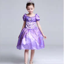 Bébé filles de bande dessinée vêtements film caractère conte de fées robes pour enfants western halloween vêtements vêtement robes de princesse
