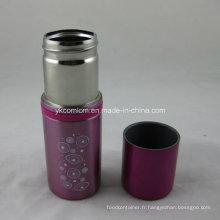 Flasque en acier inoxydable double paroi
