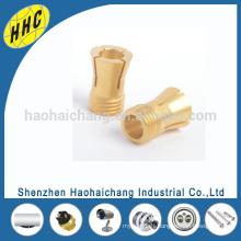 Diseño de encargo del fabricante de China Pilares de cobre amarillo automáticos de torneado H65
